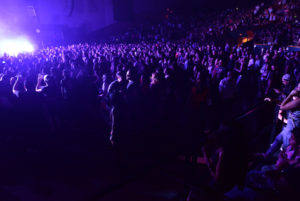 Atmosphere during J Balvin ' La Familia' tour