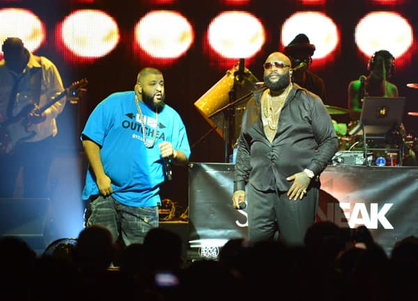 Rick Ross Performs At James L. Knight Center