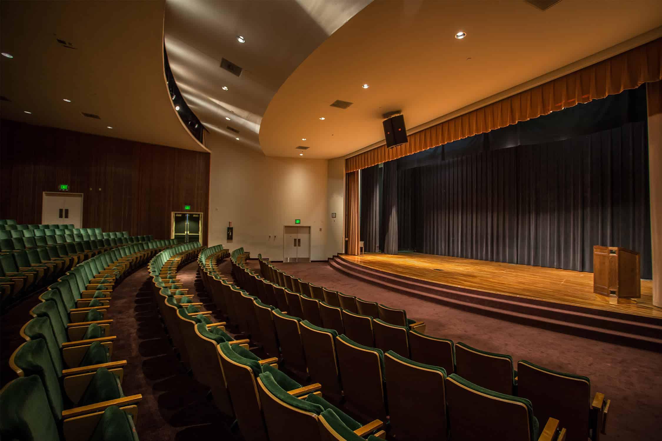 Ashe Auditorium James L Knight Center