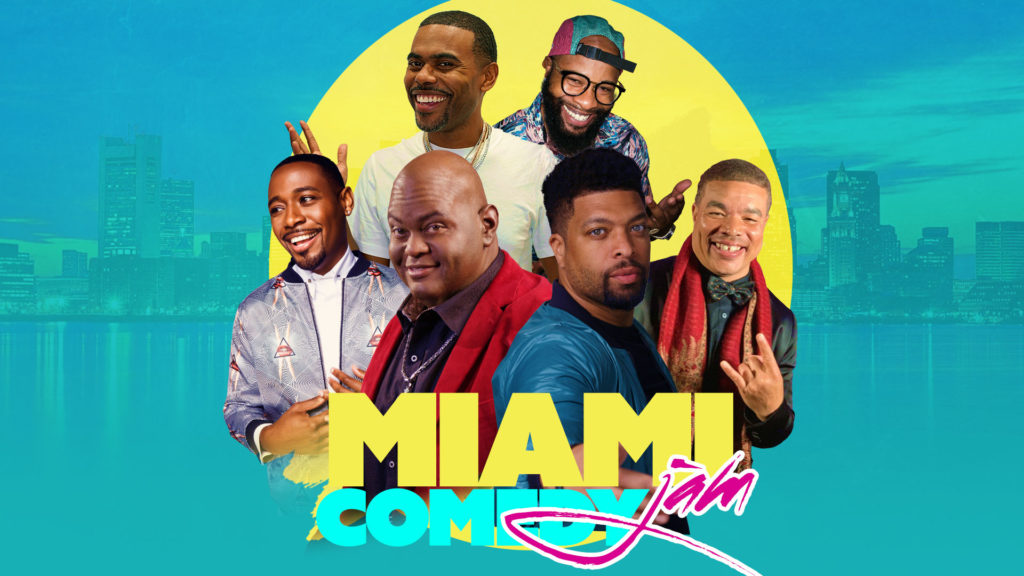 Miami Comedy Jam. Comedians include: Lavell Crawford, DeRay Davis, Lil Duval, Chico Bean, Red Grant, & Kountry Wayne