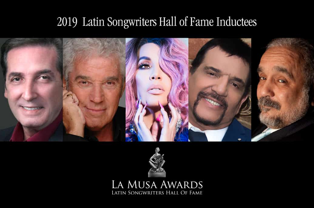 2019 Latin Songwriters Hall of Fame Inductees
