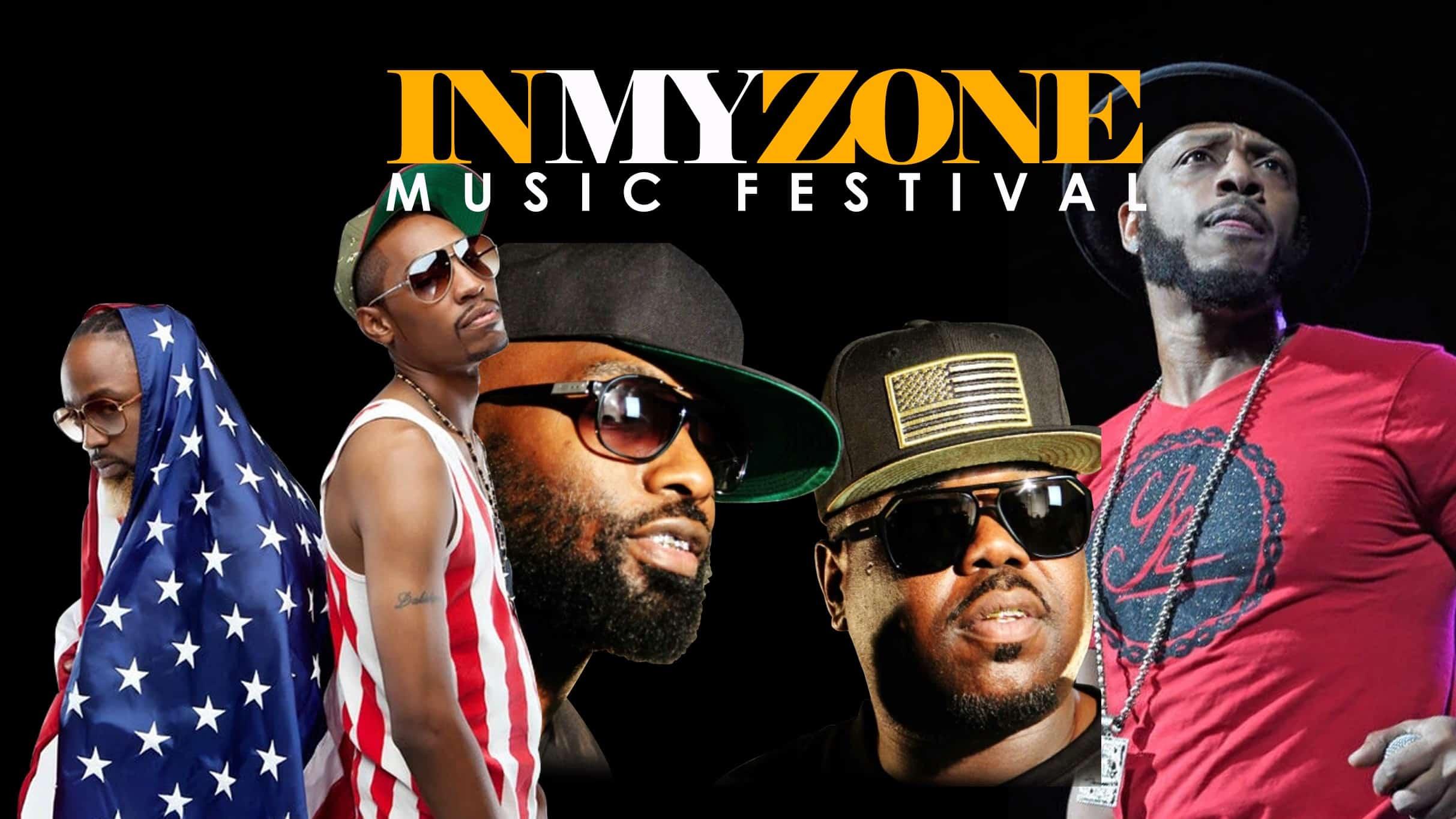 Promo for in My Zone Music Festival November 27, 2019.