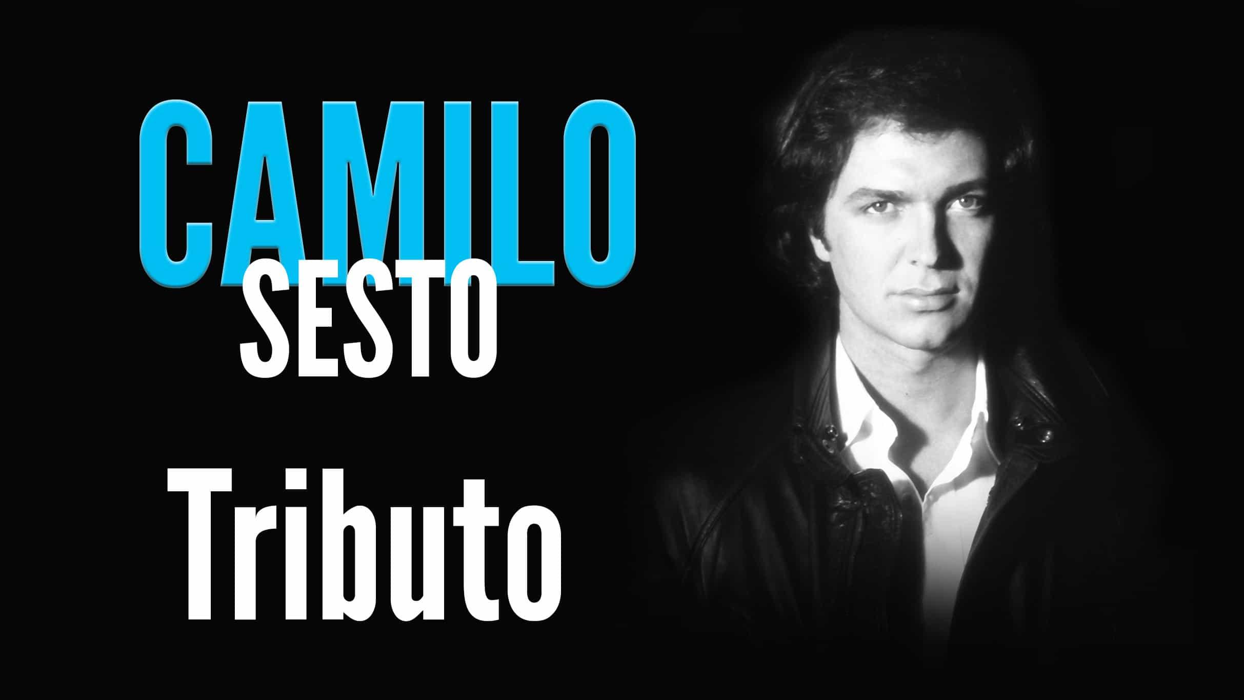 Camilo Tributo Ticketmaster - Tributo Camilo Sesto