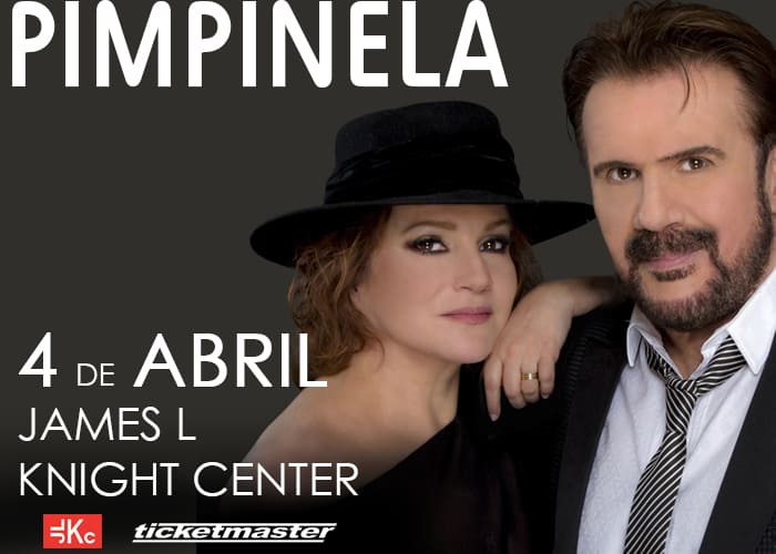 Pimpinela in concert April 4